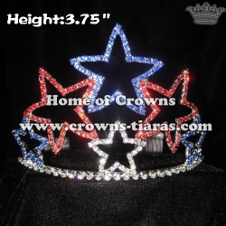 Colorful Star Crystal Crowns--4th Of July
