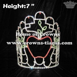 Fall Season Pageant Crowns In Apple Crowns Shaped