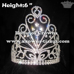 6inch Hot Selling Crystal Crowns