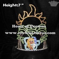 7inch Height Skateboard Girl Summer Crowns
