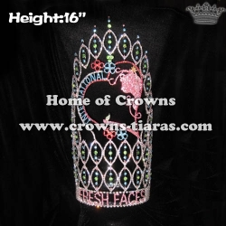 16in Height Large Big Custom Pageant Crowns