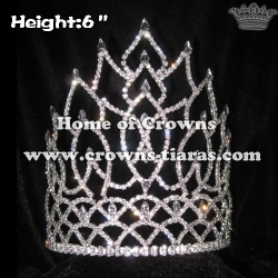 Wholesale Shinny Crystal Queen Pageant Crowns