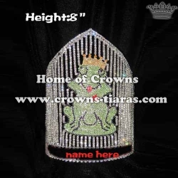 8in Height Custom Frog Pageant Crowns