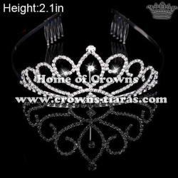 Wholesale Small Crystal Princess Tiaras