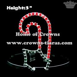 Custom Rhinestone Christmas Crowns