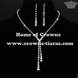 Wholesale Unique Rhinestone Party Necklace Sets