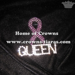 Crystal Ribbon Shaped Queen Pins