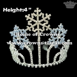 4inch Snowflake Christmas Crowns