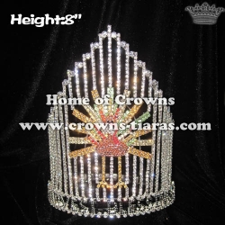 Wholesale Crystal Christmas Turkey Pageant Crowns