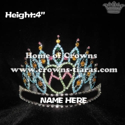 4in Height Wholesale Crystal Slipper Summer Crowns