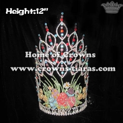 12in Crystal Easter Bunny Pageant Crowns