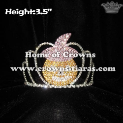 Crystal Pumpkin Halloween Crowns