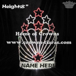 Rhinestne Star Shaped Pageant Crowns