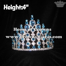 Blue Diamond Pageant Crystal Crowns