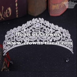 Unique Beauty Crystal Diamond Wedding Crowns