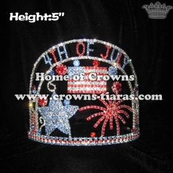 Crystal Fireworks 4th Of July Pageant Crowns