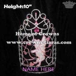Wholesale Custom Valentines Cupids Love Heart Crowns