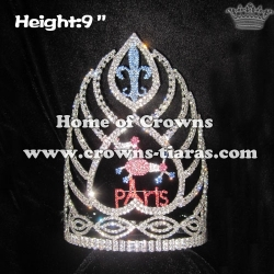 Wholesale Custom Little Sheep Crystal Pageant Crowns