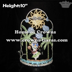 10in Unique Pageant Summer Olaf Crowns