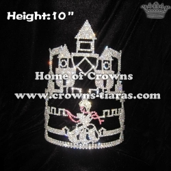 Cinderella And Castle Rhinestones Wholesale Crowns