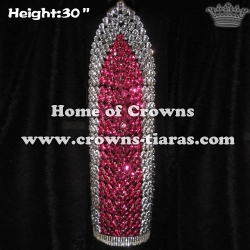 30in Height Large Big Tall Pageant Diamond Crowns