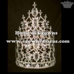 10in All Clear Diamond Stock Crowns