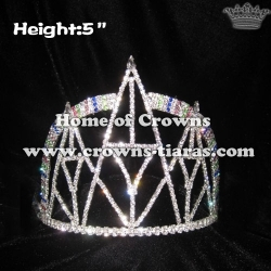 Crystal Tower Rhinestones Crowns