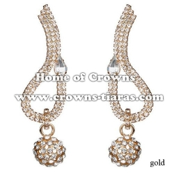 Wholesale Crystal Rhinestone With dangle Ball