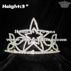 3inch Star Crowns All Clear Crystal