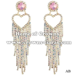 AB Rhinestone Party Fashion Earrings