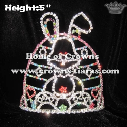 5inch Rabbit Crystal Crowns Festival Crowns