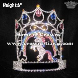 Crystal Unique Unicorn Pageant Queen Crowns