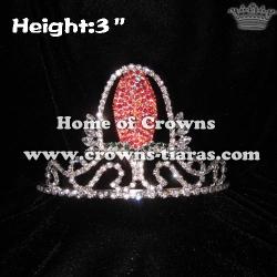 3inch Corn Crystal Crown
