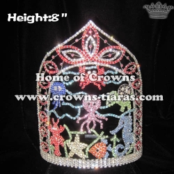 Wholesale Crystal Ocean Animal Pageant Crowns