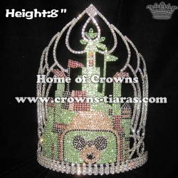 Crystal Mickey Castle Pageant Crowns