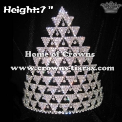 Wholesale Shinny Crystal Pageant Crowns
