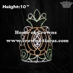 10inch Pumpkin Pageant Crowns