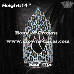 14inch Height Slipper Beach Summer Pageant Crowns