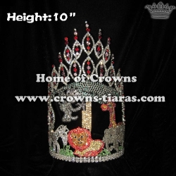 10inch Jungle Animal Wholesale Crowns