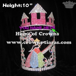 10inch Castle Alice Custom Crowns