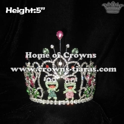 Custom Crystal Frog Princess Crowns