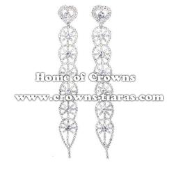 Fashion Crystal Rhinestone Bridal Earrings