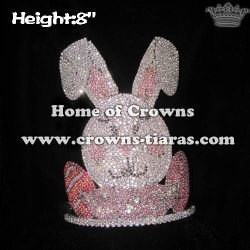 8in Height Wholesale Custom Easter Egg Pageant Crowns