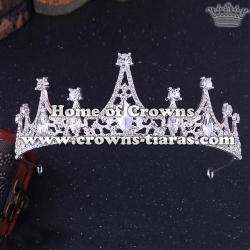 Wholesale Simple Crystal Princess Tiaras With Diamond