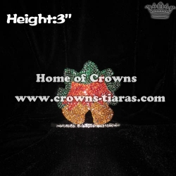 Crystal Jingle Bells Pageant Crowns
