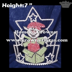 Lucky Happy Elf Christmas Crowns