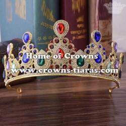 Baroque Style Wedding Diamond Tiaras And Crowns