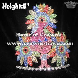 Custom Crystal Troll Pageant Crowns