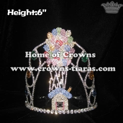 Wholesale Balloon Rhinestone Pageant Crowns