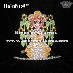 Sunflower Girl Crystal Crowns